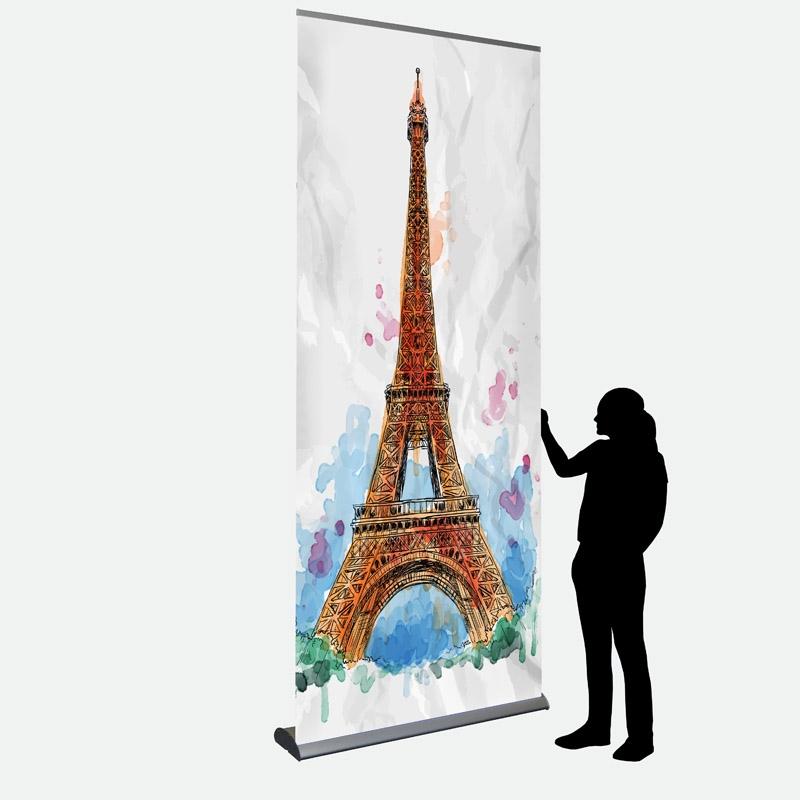 Business Banner 120 x 287 cm einseitig