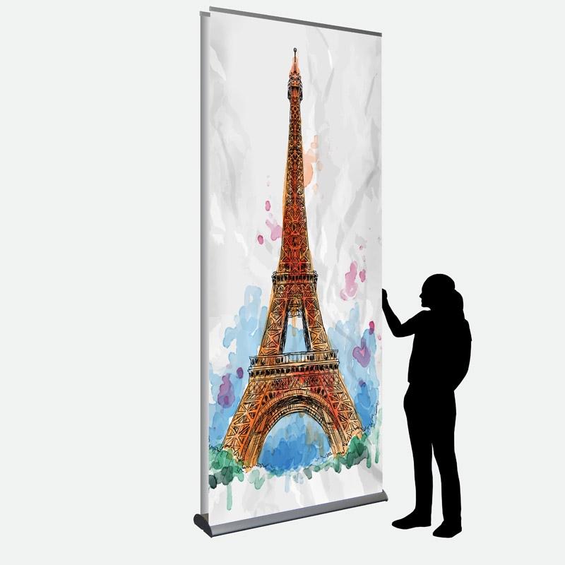 Business Banner 120 x 287 cm doppelseitig