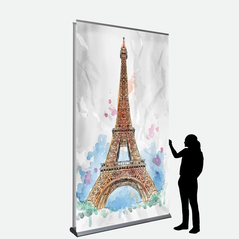 Business Banner 150 x 250 cm doppelseitig