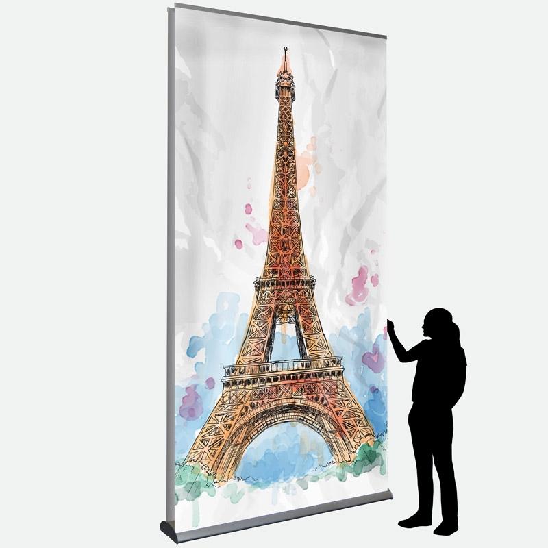 Business Banner 150 x 287 cm doppelseitig