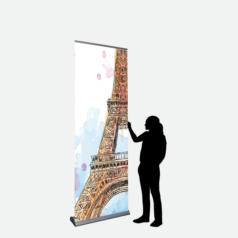 Business Banner 85 x 250 cm einseitig