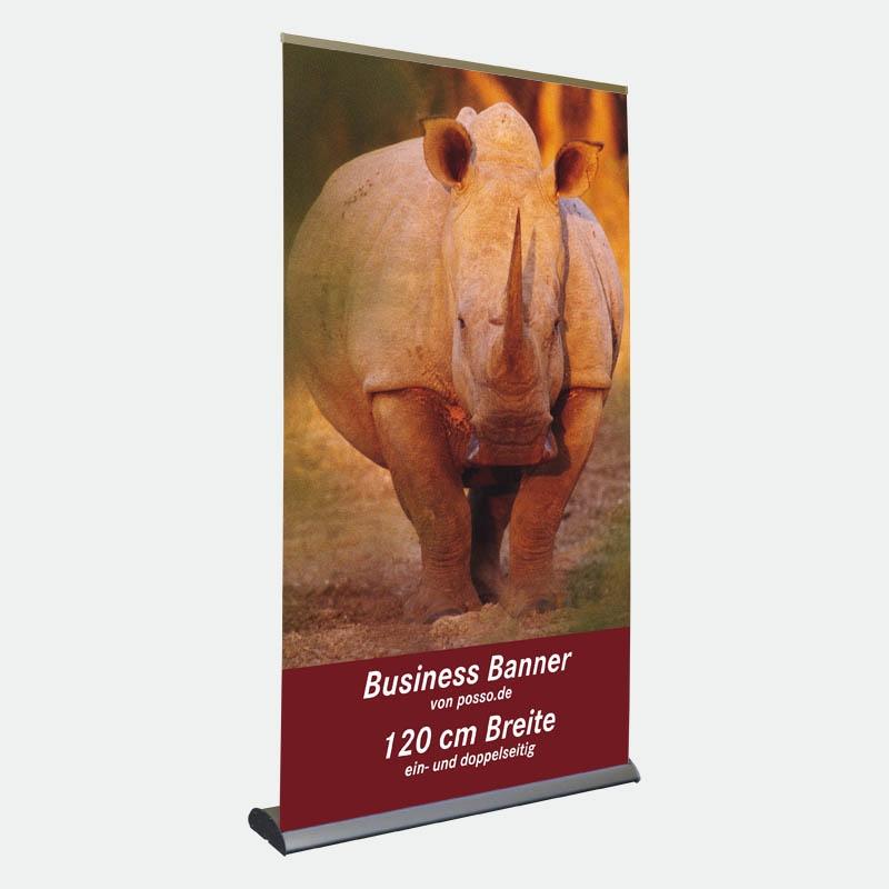 Business Bannerdisplay 120 cm, Einseitig