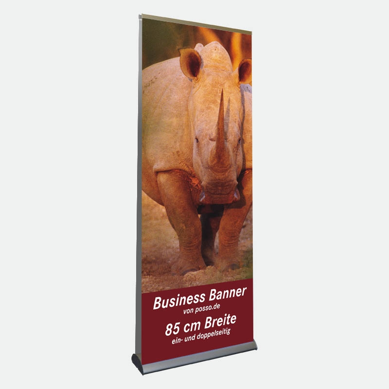 Business Bannerdisplay 85 cm, Doppelseitig