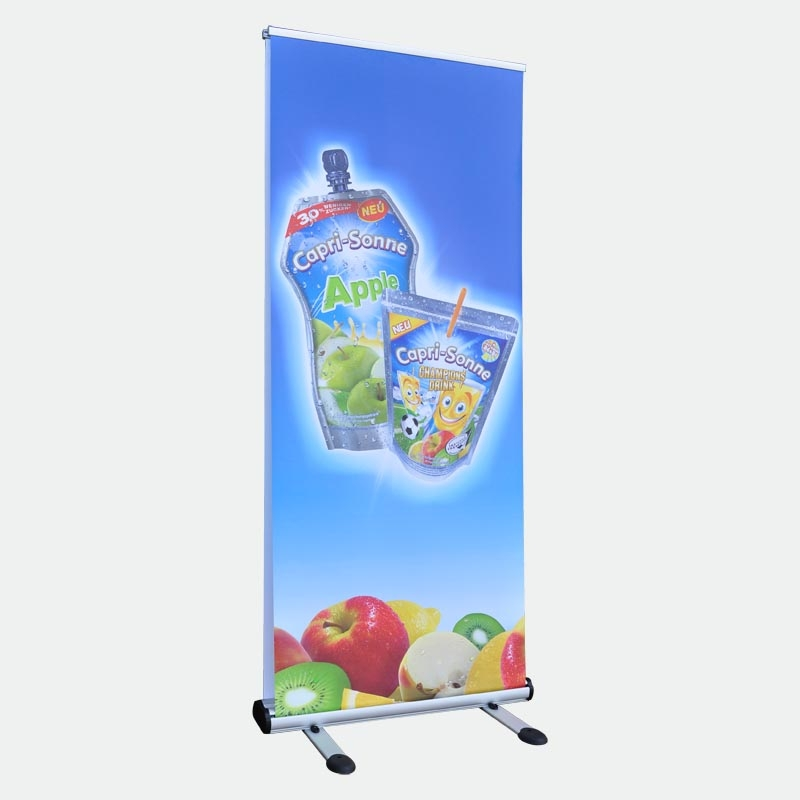 Outdoor Bannerdisplay 85 cm, Roll Up