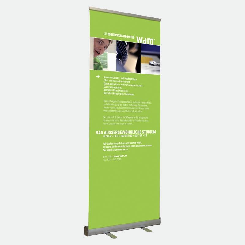 Bannerdisplay 80 cm, Banner Roll Up 80 cm