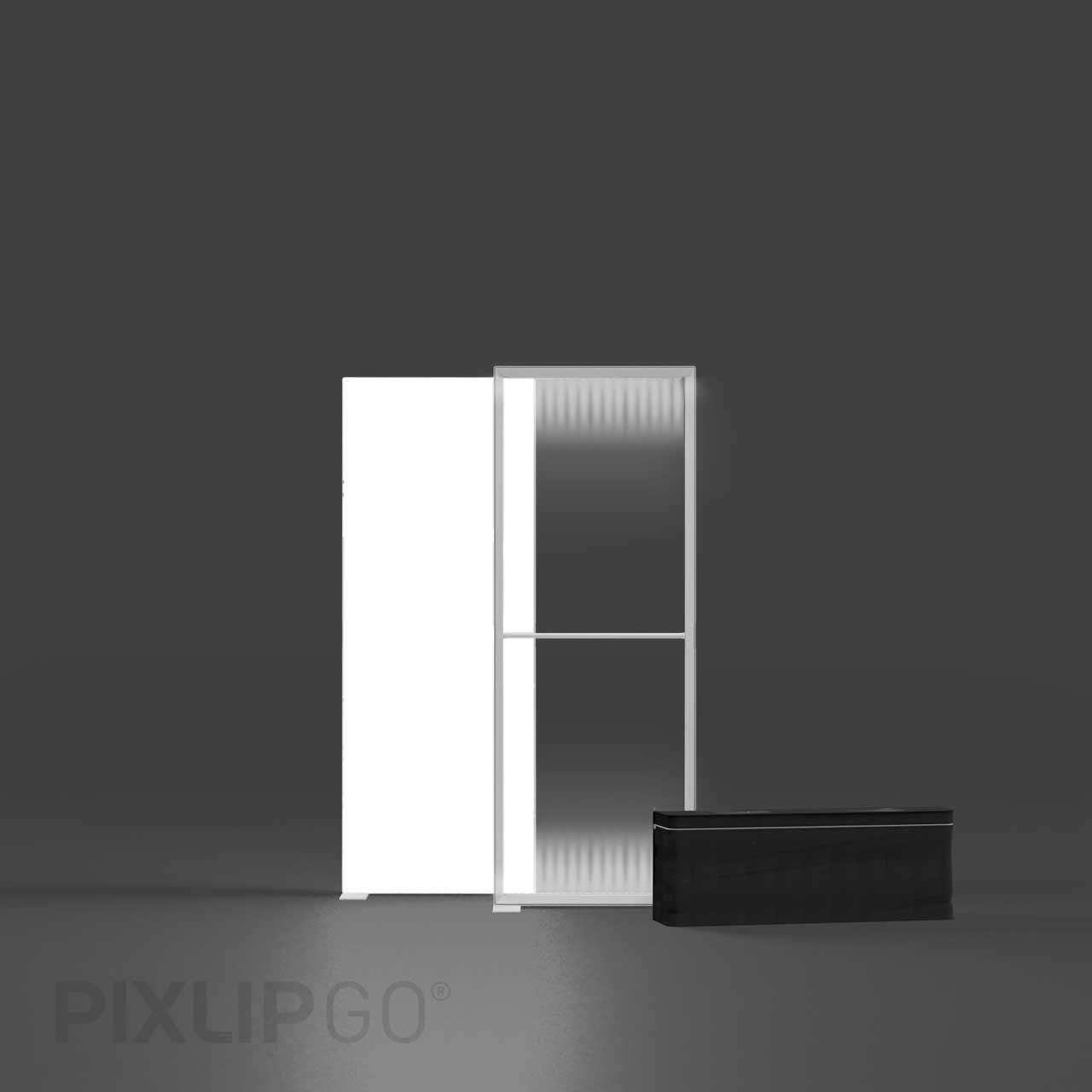 PIXLIP GO Lightbox Set 85 x 200 cm