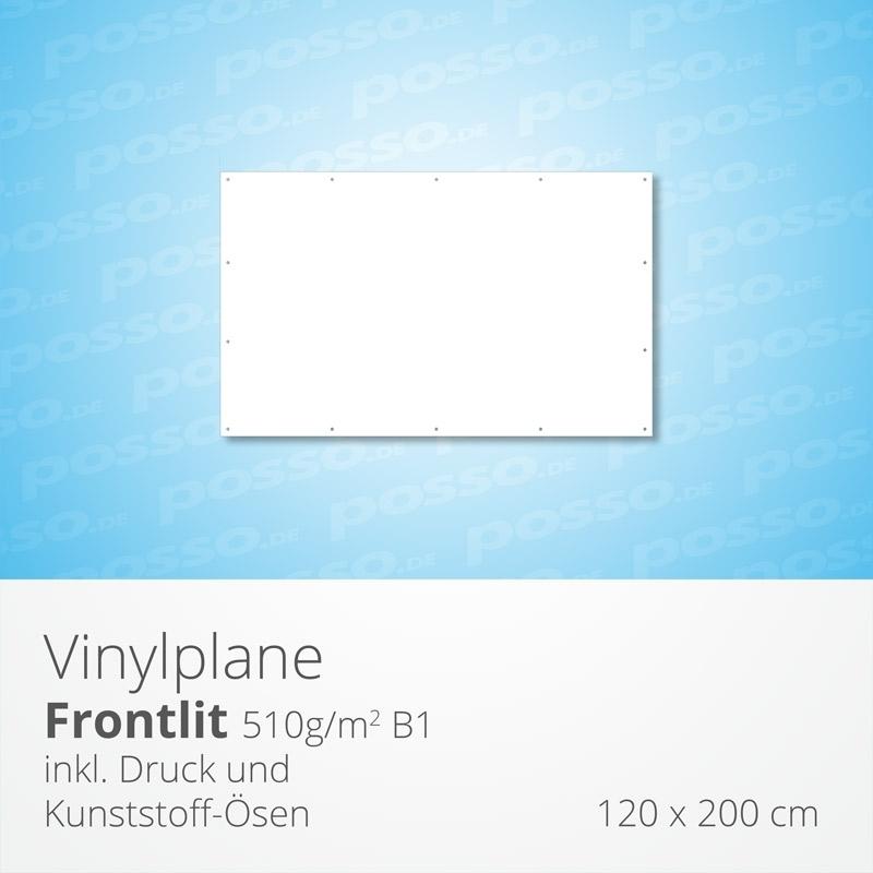 Werbeplane, Frontlit, Vinylplane 120 x 200 cm