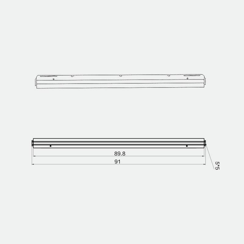 Messebau - tex.Connect horizontales Profil