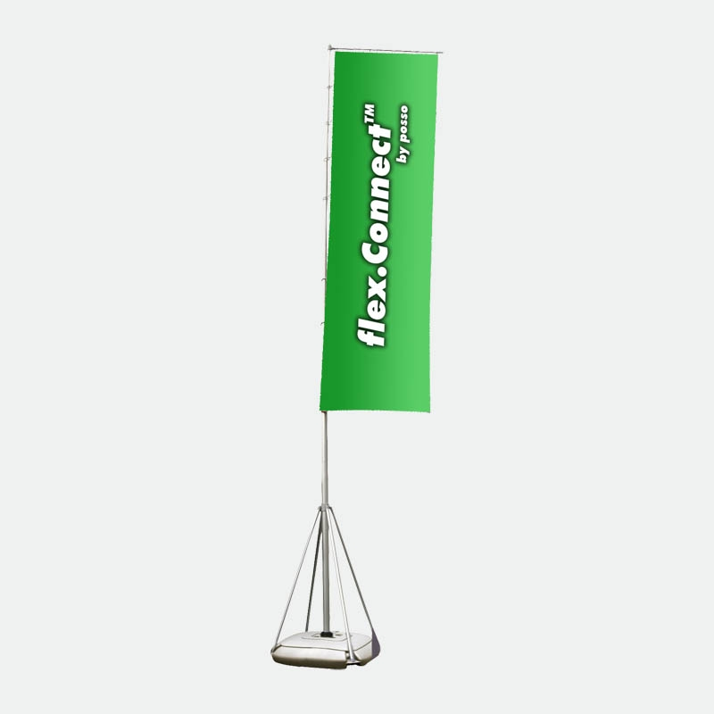 Werbefahne Wind Dancer Fahne 500 cm