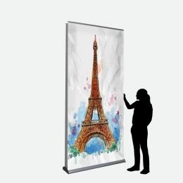 Business Banner 120 x 250 cm doppelseitig