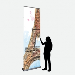 Business Banner 85 x 287 cm