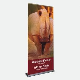 Business Bannerdisplay 100 cm, Einseitig