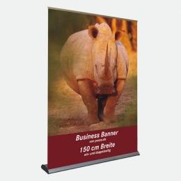 Business Bannerdisplay 150 cm, Einseitig