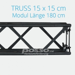 Crown Truss Modul 15x15 gerade 180 cm