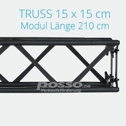 Crown Truss Modul 15x15 gerade 210 cm