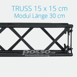 Crown Truss Modul 15x15 gerade 30 cm