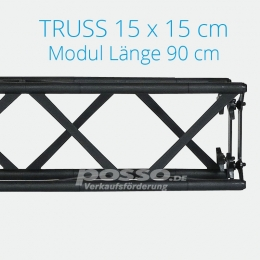 Crown Truss Modul 15x15 gerade 90 cm