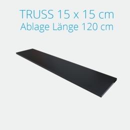 Crown Truss Ablage inkl. Halterung Länge 120 cm