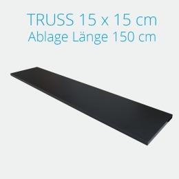 Crown Truss Ablage inkl. Halterung Länge 150 cm