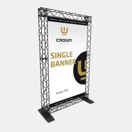 Crown Truss SINGLE BANNER