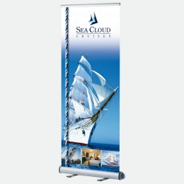 Bannerdisplay, Banner Roll Up 80 cm