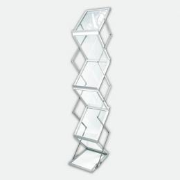 Faltprospektständer Acryl DIN A4