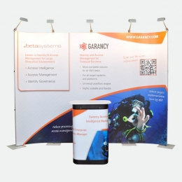 flex.Connect Messestand 320 cm