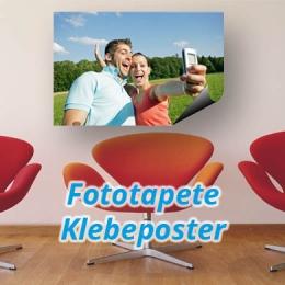 Fototapete, Klebeposter