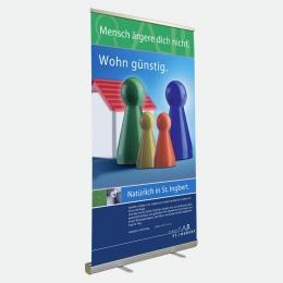 Bannerdisplay 120 cm, Banner Roll up 120 cm