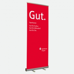 Bannerdisplay 85 cm, Roll-up