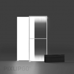 PIXLIP GO Lightbox Set 100 x 225 cm