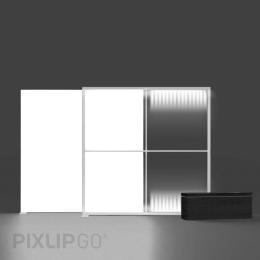 PIXLIP GO Lightbox Set 200 x 200 cm