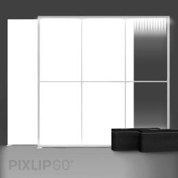 PIXLIP GO Lightbox Set 300 x 250 cm