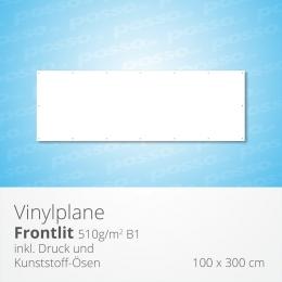 posso Frontlit Vinylplane 100 x 300 cm