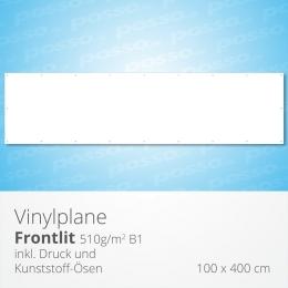 posso Frontlit Vinylplane 100 x 400 cm