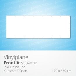 posso Frontlit Vinylplane 120 x 350 cm