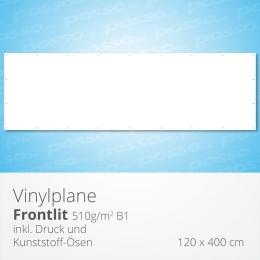 posso Frontlit Vinylplane 120 x 400 cm