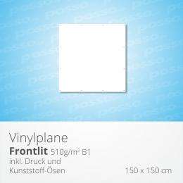 posso Frontlit Vinylplane 150 x 150 cm