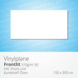 posso Frontlit Vinylplane 150 x 300 cm