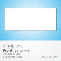 posso Frontlit Vinylplane 150 x 350 cm