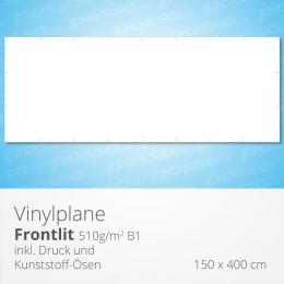 posso Frontlit Vinylplane 150 x 400 cm