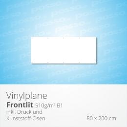 posso Frontlit Vinylplane 80 x 200 cm