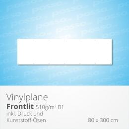 posso Frontlit Vinylplane 80 x 300 cm