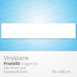posso Frontlit Vinylplane 80 x 400 cm
