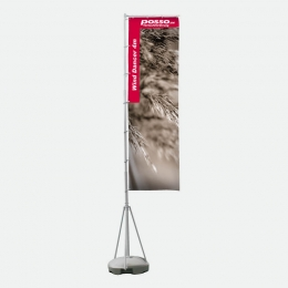 Werbefahne Wind Dancer Fahne 400 cm