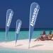 Beachflag Strandfahne 400 cm