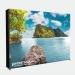 LED Faltdisplay 4x3 - Textildruck mit Durchleuchtung