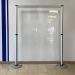 Limbo Hygiene Corona Trennwand mit transparenter Folie