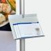 Limbo Prospektablage für DIN A4