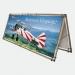 Bandenwerbung Monsoon Banner 250cm doppelseitig